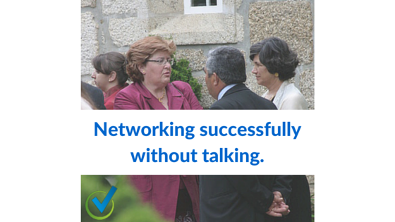 Networking successfully without talking.