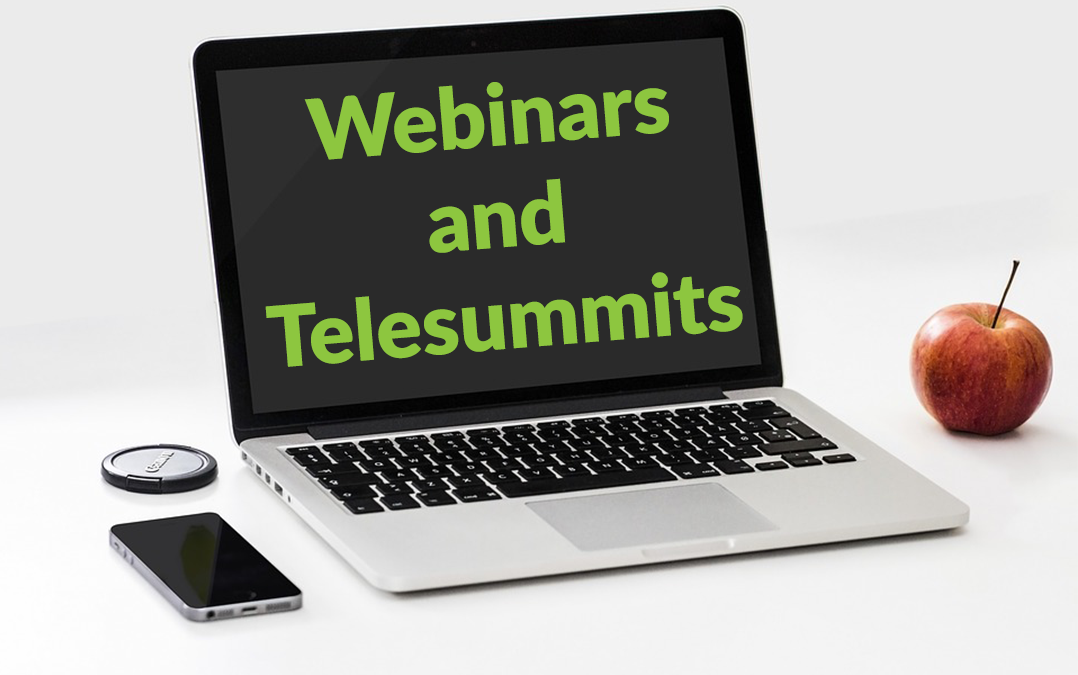 Webinars and Telesummits