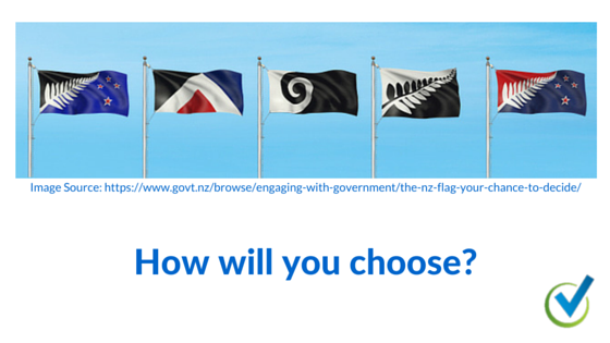 How will you choose?