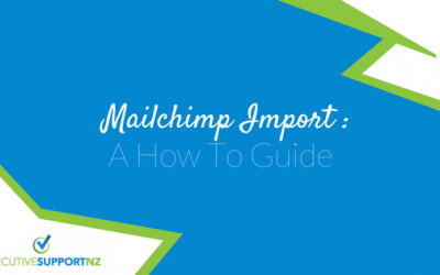 Mailchimp Import: A How To Guide