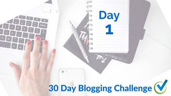 Beginning a 30 Day Blogging Challenge